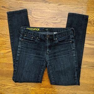 """8"""" J. Crew Toothpick Jeans"""